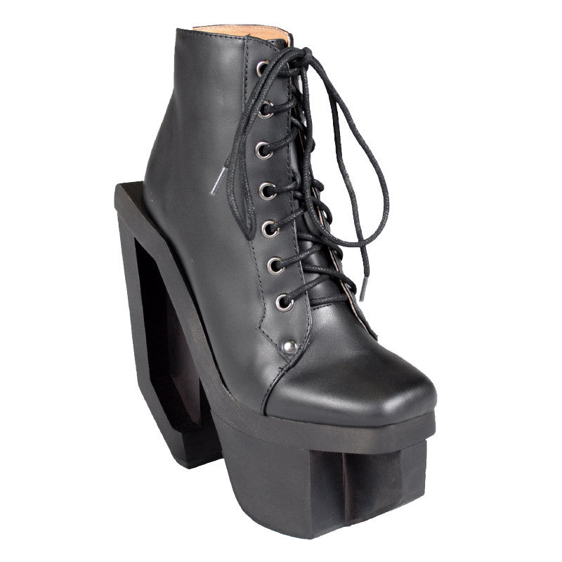 Jeffrey Campbell - Alia Women's Boots, Black - The Giant Peach