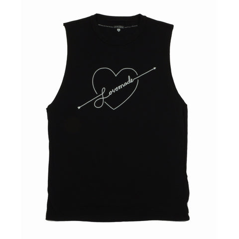 Lovemade - Shot to the Heart Women's Tee, Black
