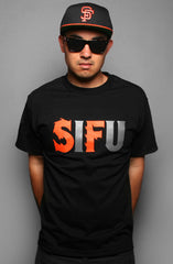 Adapt - SIFU Men's Tee Shirt, Black - The Giant Peach