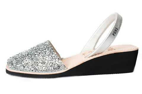 Pons Avarcas - Wedge Glitter - The Giant Peach - 1