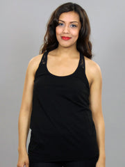 Eden by Element - Simone Women's Tank Top, Black - The Giant Peach