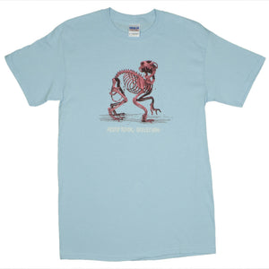 Aesop Rock - Skelethon Men's Shirt, Light Blue - The Giant Peach