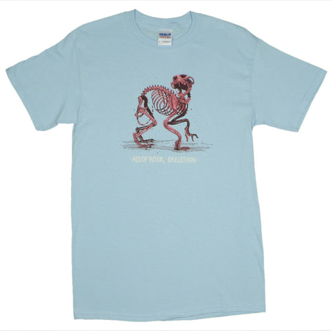 Aesop Rock - Skelethon Men's Shirt, Light Blue