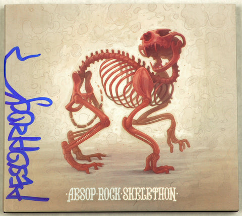 Aesop Rock -  Skelethon, CD (autographed)