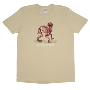 Aesop Rock - Skelethon Men's Shirt, Sand - The Giant Peach