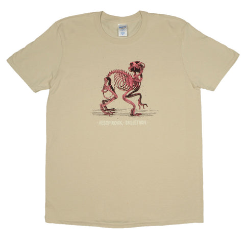 Aesop Rock - Skelethon Men's Shirt, Sand