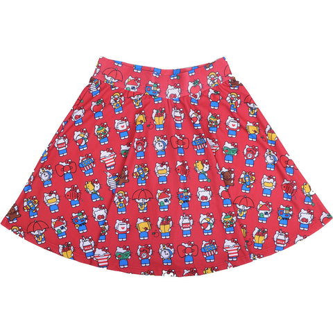 JapanLA x Hello Kitty - 40th Skirt, Red