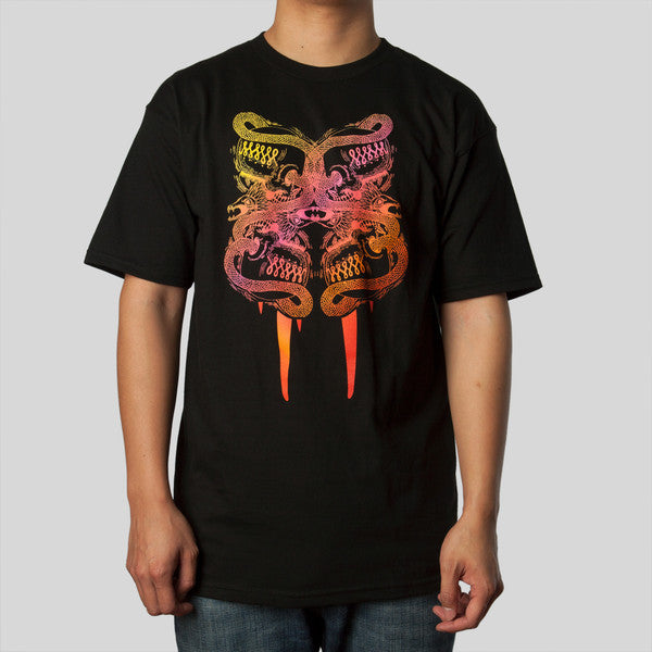 Fifty24SF Gallery - Saner Skull Men's Shirt, Black - The Giant Peach