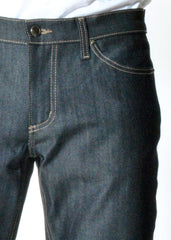 Rustic Dime - Slim Fit Denim, Raw Indigo - The Giant Peach