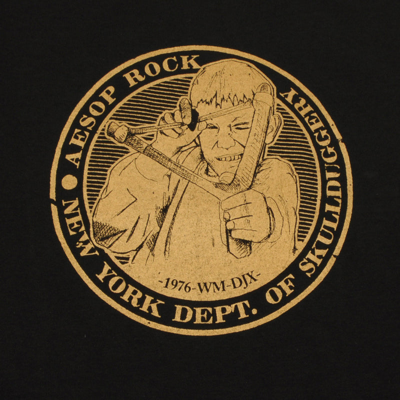 Aesop Rock - Slingshot Men's Shirt, Black - The Giant Peach
