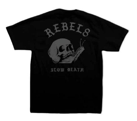 REBEL8 - Slow Death Men's Shirt, Black