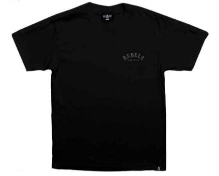 REBEL8 - Slow Death Men's Shirt, Black - The Giant Peach