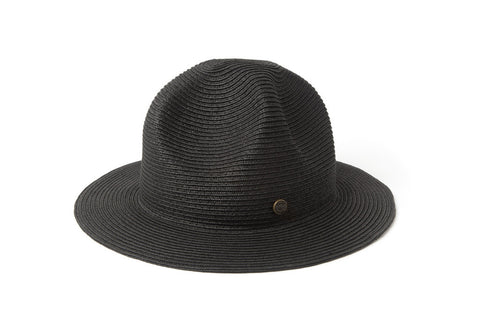 Original Chuck - Smokey Molded Straw Trooper Hat, Black