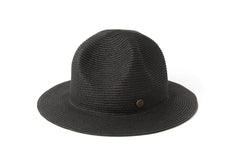Original Chuck - Smokey Molded Straw Trooper Hat, Black - The Giant Peach