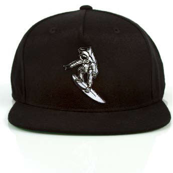 Imaginary Foundation - Astrosurfer Snapback, Black - The Giant Peach - 2