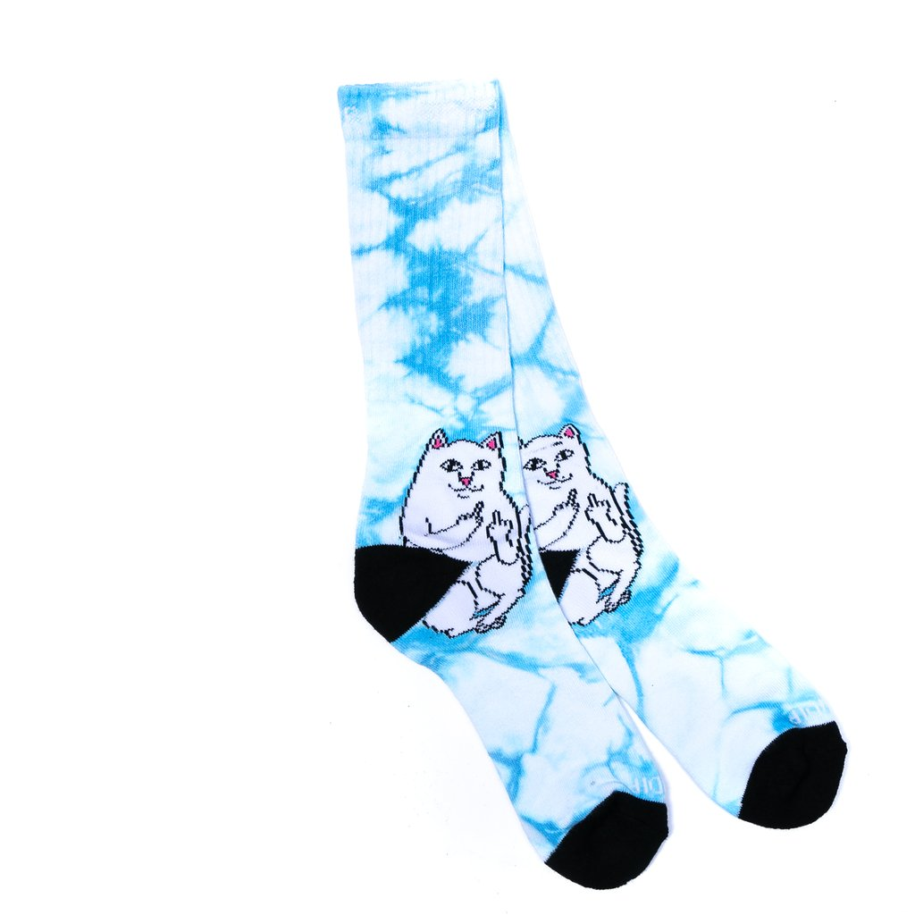 RIPNDIP - Lord Nermal Socks, Mint Tie Dye
