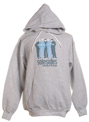 Solesides - Greatest Bumps Hoodie, Grey - The Giant Peach