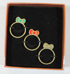 Loungefly - Hello Kitty Southwestern 3 Stack Ring - The Giant Peach - 2