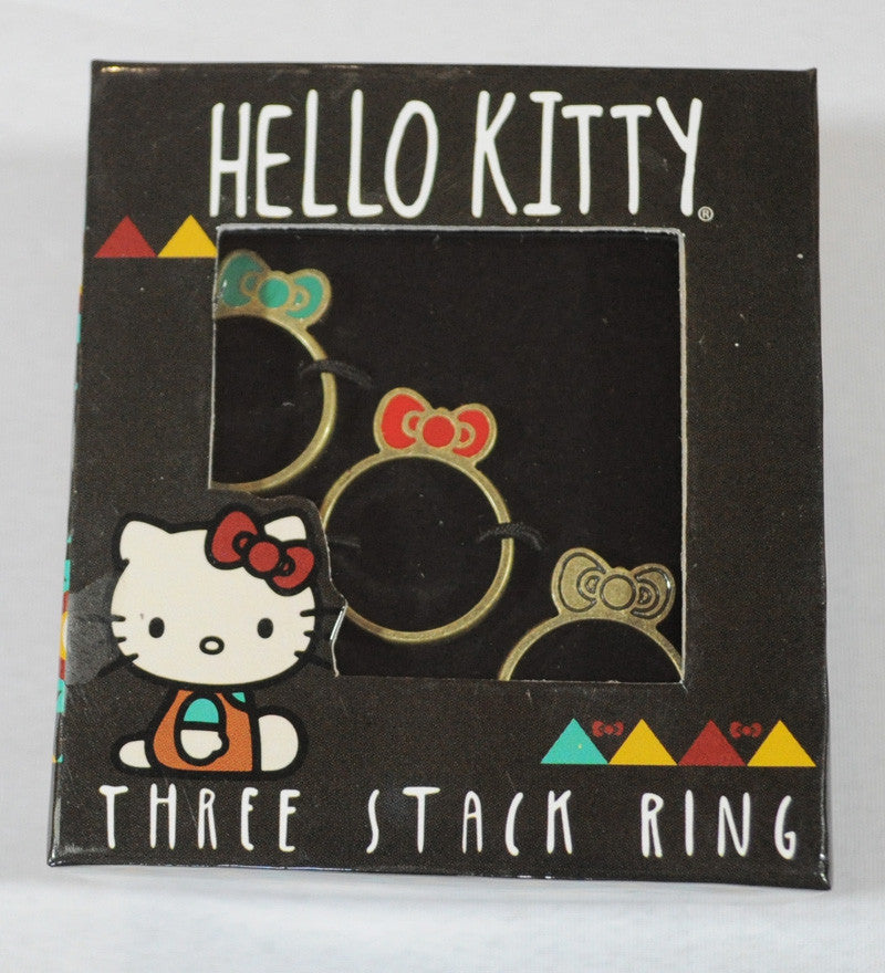 Loungefly - Hello Kitty Southwestern 3 Stack Ring - The Giant Peach - 1