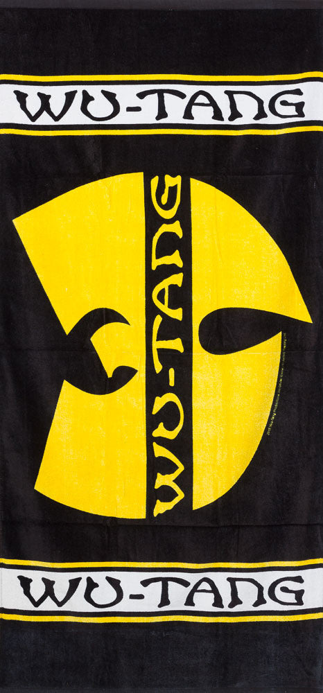 Wu-tang Clan Beach Towel, Black - The Giant Peach