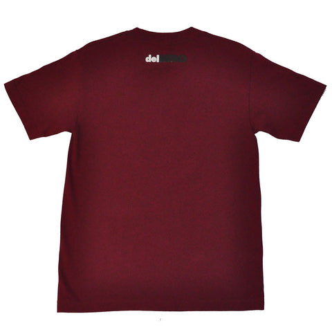 delHIERO - Splatter Men's Shirt, Burgundy
