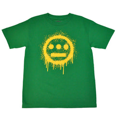 delHIERO - Splatter Men's Shirt, Green - The Giant Peach - 1