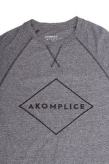 Akomplice -  Sport Raglan Men's Crew, Grey - The Giant Peach - 2