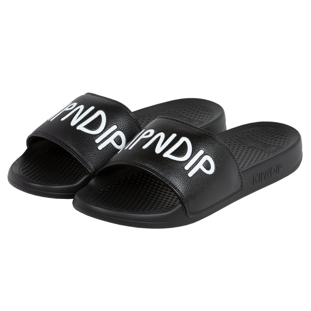 RIPNDIP - Simple Logo Slides, Black