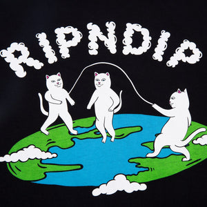 RIPNDIP - Flat Men's Tee, Black
