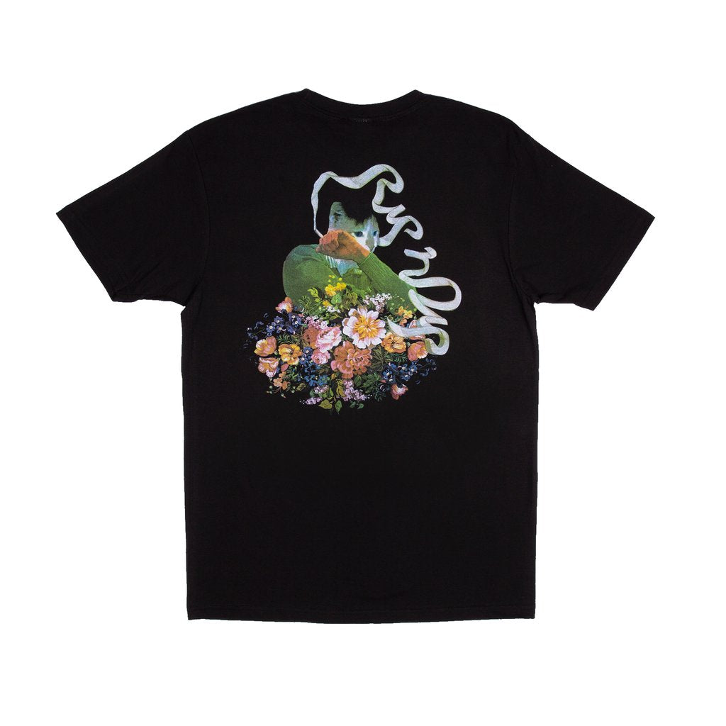 RIPNDIP - Flower Burst Men's Tee, Black