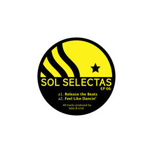 "Sol Selectas - EP 06, 12"" Vinyl - The Giant Peach"