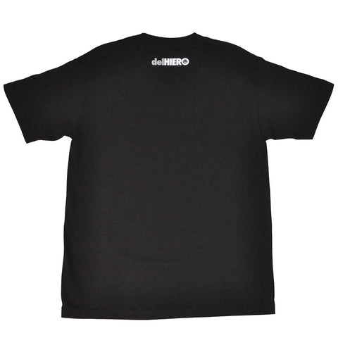 delHIERO - Stacked Men's Shirt, Black/Grey