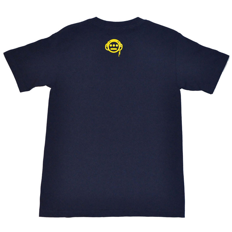 delHIERO - Stakes Men's Shirt, Navy - The Giant Peach