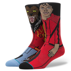 Stance x Michael Jackson Men's Socks, Red - The Giant Peach