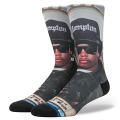 Stance x Eazy-E - Praise Eazy-E Men's Socks, Multi - The Giant Peach