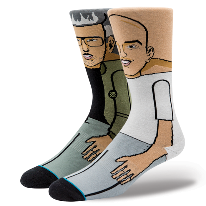 Stance - Stretch & Bobbito Men's Socks, Multi - The Giant Peach
