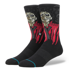 Stance x Michael Jackson Thriller Men's Socks, Black - The Giant Peach