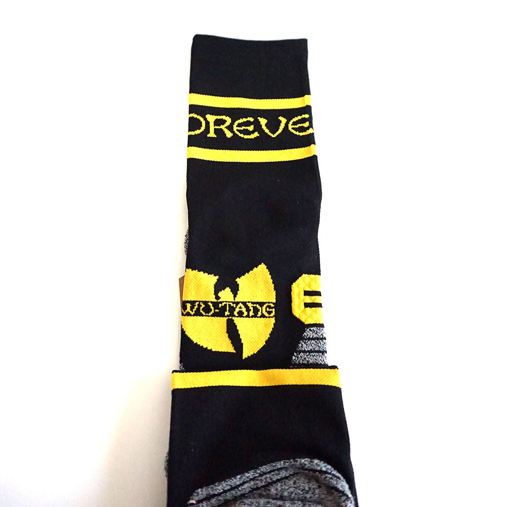 Stance x Wu-Tang Clan - Wu-Tang Forever Men's Run Socks, Black