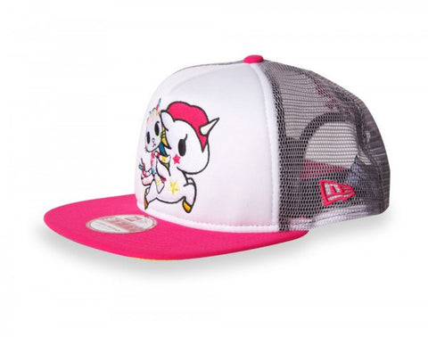 tokidoki - Star Bright Mesh Trucker, White