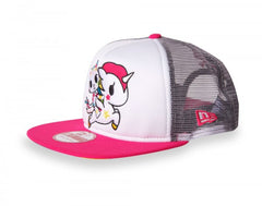 tokidoki - Star Bright Mesh Trucker, White - The Giant Peach - 3
