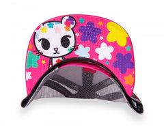 tokidoki - Star Bright Mesh Trucker, White - The Giant Peach - 2