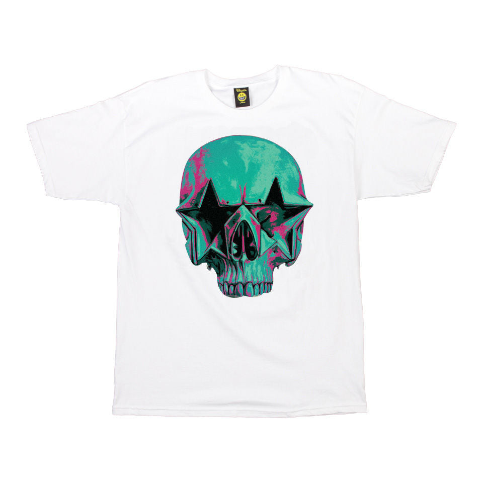 Popaganda by Ron English - Starskull Men's Tee, White - The Giant Peach