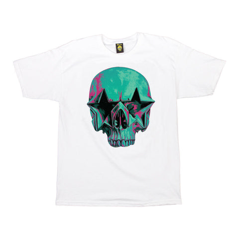 Popaganda by Ron English - Starskull Men's Tee, White