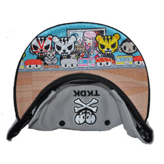 tokidoki - Starstrike Snapback Hat, Grey - The Giant Peach