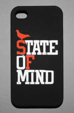 Adapt - State of Mind iPhone 4 + 4s Case, Black