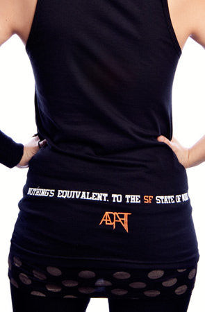 Adapt - SF State of Mind Women's Tank Top, Black - The Giant Peach