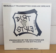 Wax Fondler - STD Breaks, LP Vinyl - The Giant Peach