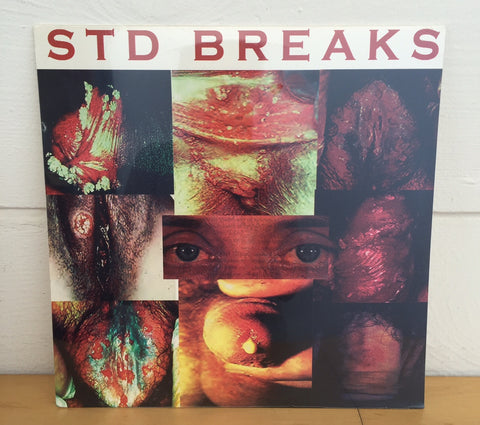 Wax Fondler - STD Breaks, LP Vinyl