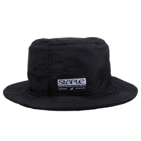 Staple - Stealth Bucket Hat, Black