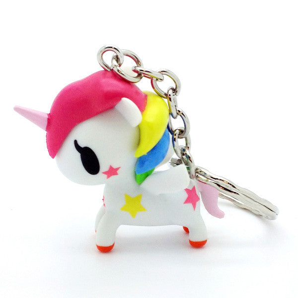 tokidoki  - Stellina Unicorno Keychain, White - The Giant Peach